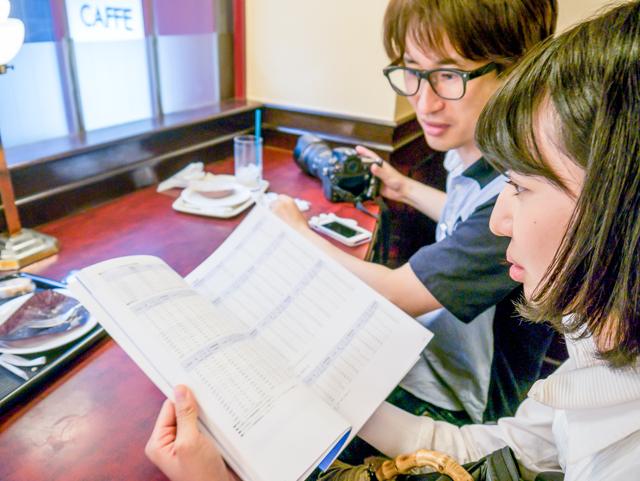一息ついて、石山さん所有の電線メーカーのカタログを見せてもらいました。