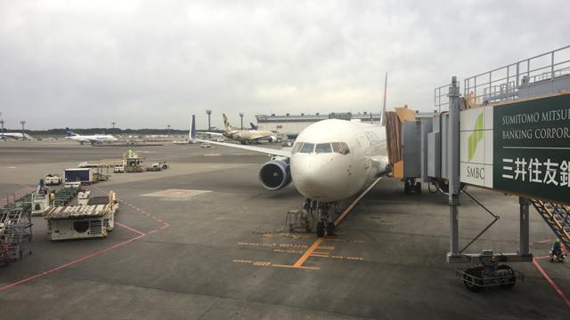 ちなみに飛行機に乗るのは好き。頻度は1年で往復で、合計4回くらい