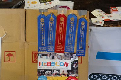 Hebocon this year received  four