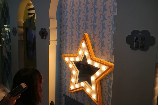 星型に光っている鏡。僕はただの飾りだと思っていた。