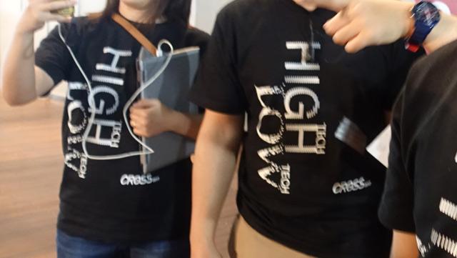 運営スタッフのみんながエグザイルの映画(「HiGH&LOW」)みたいなかっこいいTシャツ着てんなと思っていたが…。