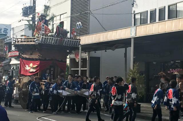 あまり屋台に目を向けなかったのは祭りがある地区に嫉妬しているから…ではない、と言いたい