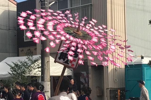 ピンクの花、いっぱい!!