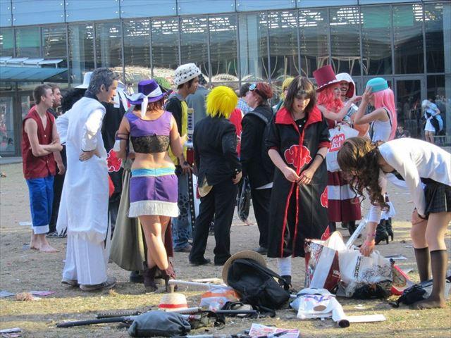 タイミングよく開催されていたアニメ関連のイベント。