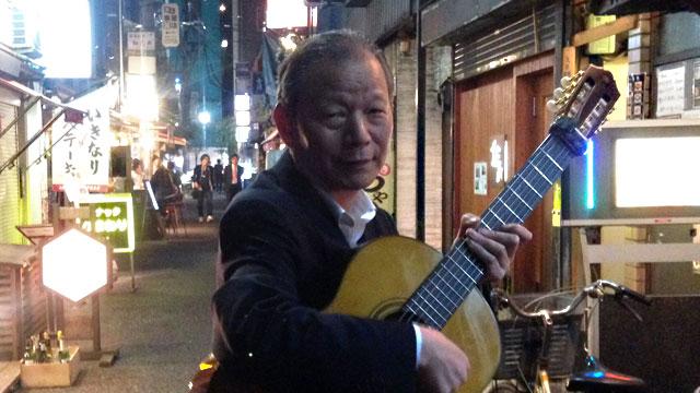 今夜もきっと、どこかでギターを弾いています