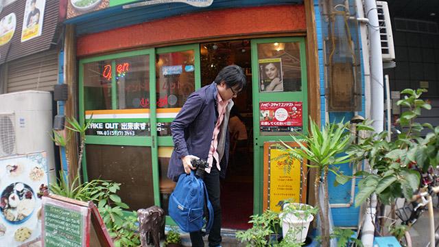 一番近くにあった南インド料理西新宿のムット。ムットさんがいる