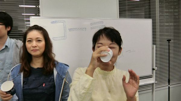 編集部の橋田さんが少し苦戦をしただけだった。