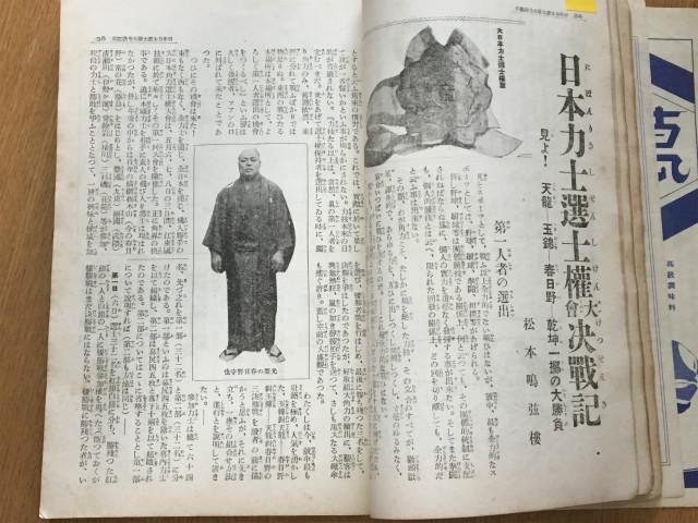 「日本力士選士権大会」通常の大相撲のやつとはちがう