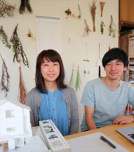 爽やかな建築家のお二人、冨永さん(左)と伊藤さん