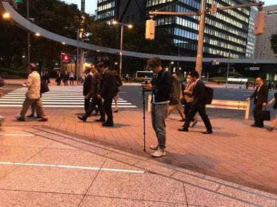 カラオケっぽい映像は新宿ですべて撮れた