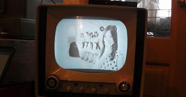 真空管テレビでもかわいい