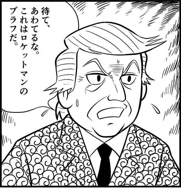横山『三国志』風・大統領