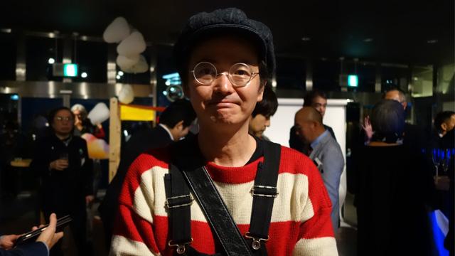 高橋匡太さん。スマートイルミネーション横浜には初回から参加している。