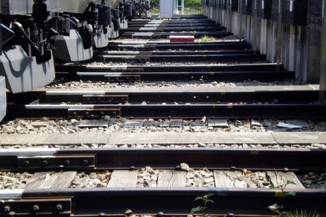 でもやっぱり電車より線路が並んでいる方が興奮する