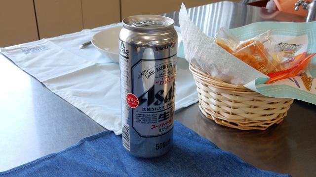 ビールである。