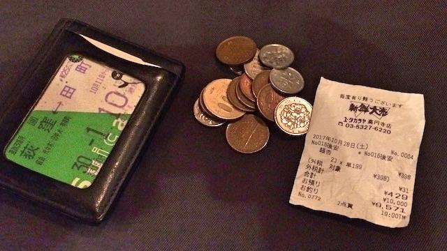 スーパーで銀杏(398円)をご購入