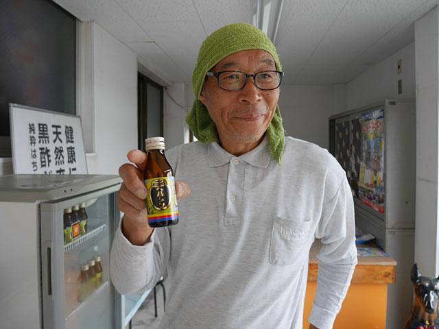 長命ヘルシン酢醸造の大嵩(オオタケ)さん