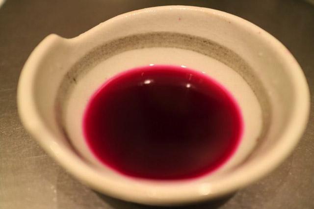 純粋なゆかり汁の完成。