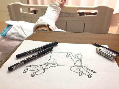 この記事は入院中の時間を利用して書きました