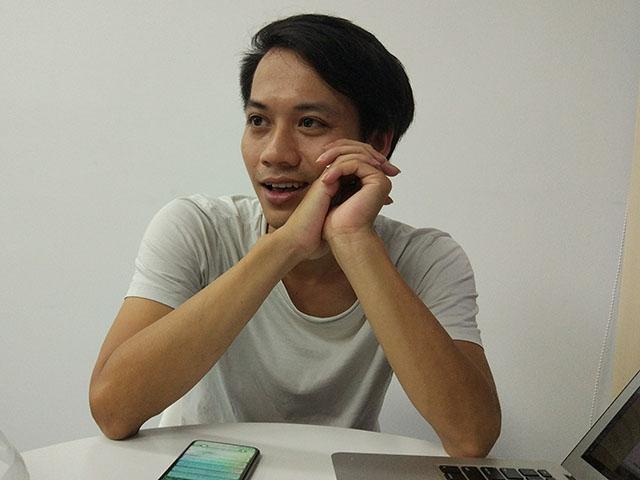 DiFFCATの代表、ジャンさん。かなり若く見えるけど30歳。