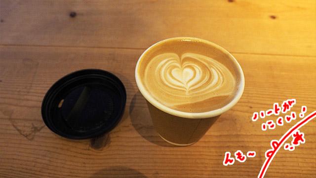 一番人気のカフェラテ。