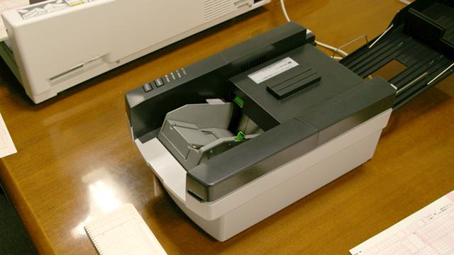 マークシートリーダSR-430。カタログ価格\359,100。
