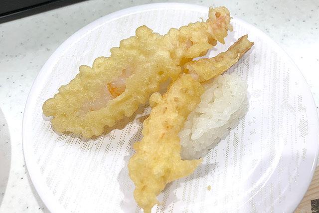 かっぱ寿司の寿司は、昔から転んでいることが多いのです。
