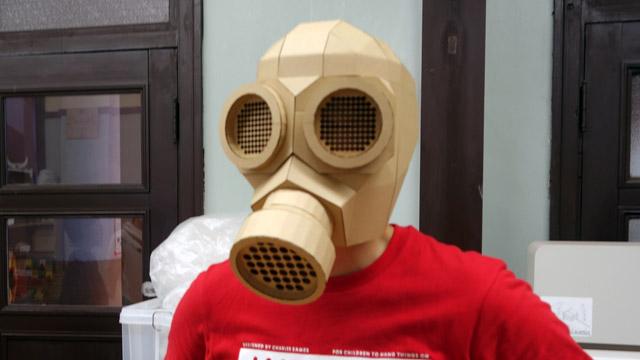 いかにもなマスク