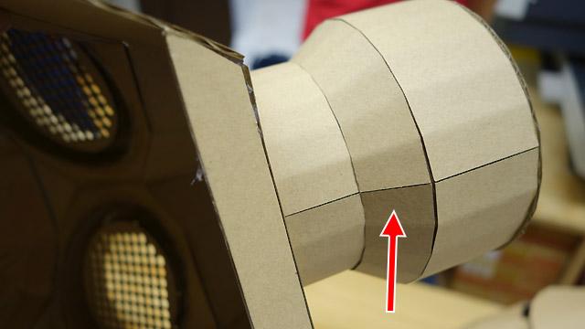 細かい折り目で丸みを出していたり、紙を合わせた線がそろっていたり