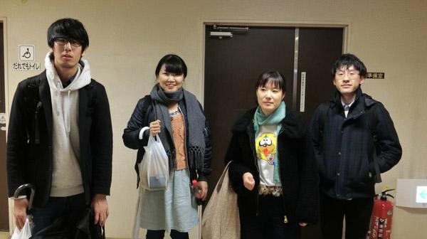 左からデイリーライターのmegayaさん、ネッシーさん、さくらいさん、北向さん。