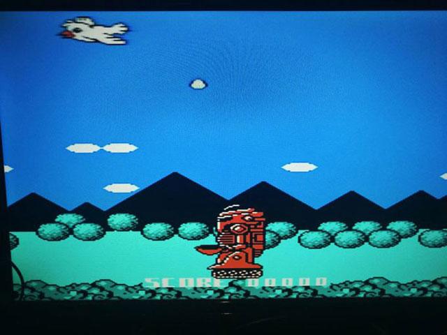 しかし、予想とはまったく違い、いかついロボットを操作するゲームだった。
