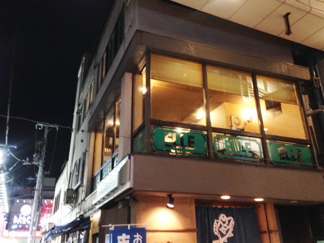 パールセンターを見下ろす2階。七夕祭りのときは特等席