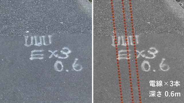 左の記号が、右のように見えるらしい