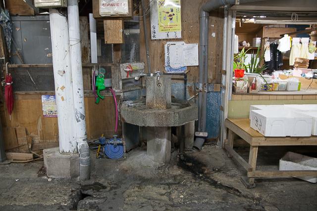 現役の手洗い場