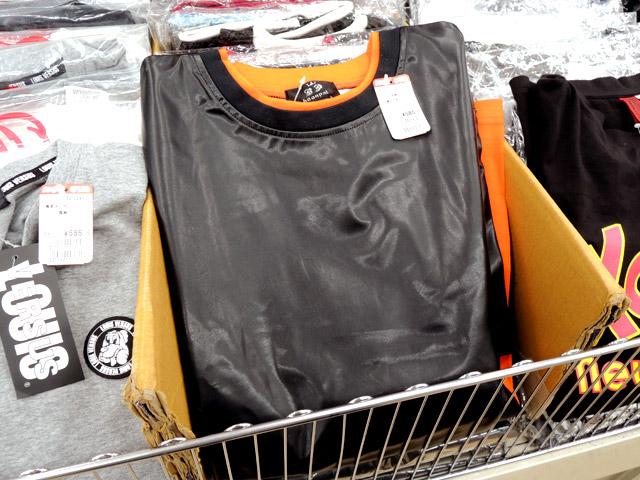 激安衣料品店で、何が何でも風を通さなそうな素材感の服を発見したり