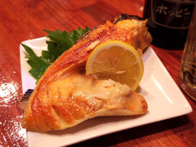 「鮭カマ焼」(400円)