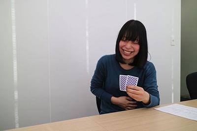 最後の石川さんのミスで古賀さんは笑い死にそうになっていた