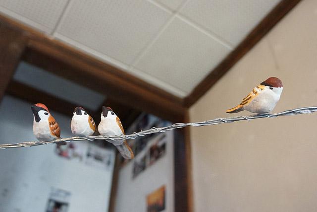 1個1個違う!これ、型はなく、社鳥が1個1個個性を出しながら作っているとのこと!愛!