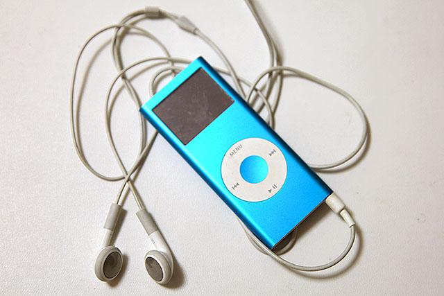もはや旧型のiPodnano。iPodなの!