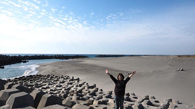 そしてたぶんこのあたりが砂丘の原風景!