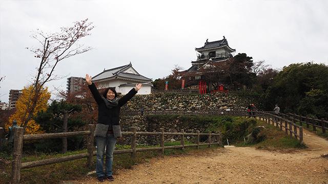 浜松城は桜の時期が人気らしい。が、今回お薦めされたのはここではなく、