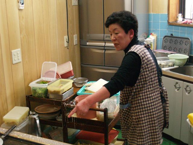 大家族の台所っぽいオープンキッチン。
