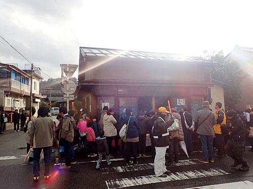 全盛期の羽茂大市を思わせるにぎわいが、商人ではなく小学生によって起こされているのがおもしろい。