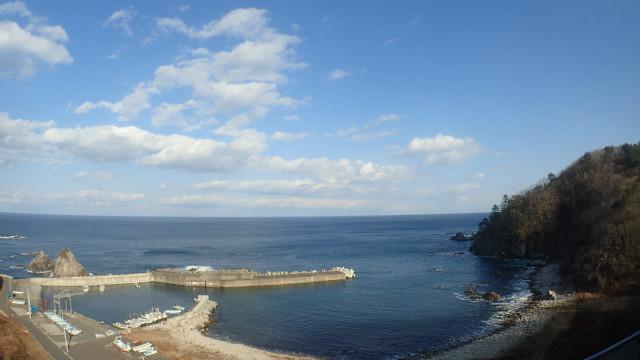 みてくださいこのきれいな海