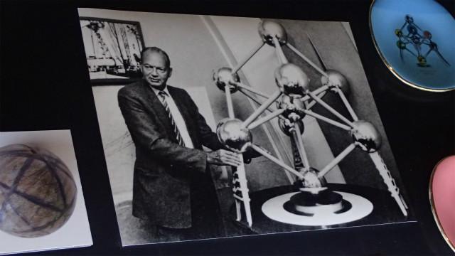 アトミウムを設計した、アンドレ・ワーテルケインさん