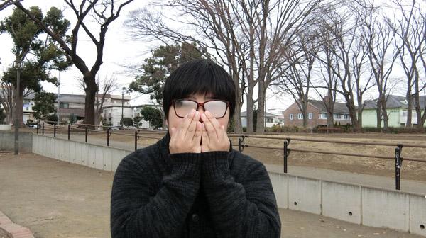 マスクをしているとメガネがくもるのを参考にしました。