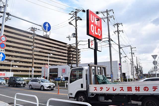 このユニクロに行くためだけに福駅に降りたことがあるという友人もいた。
