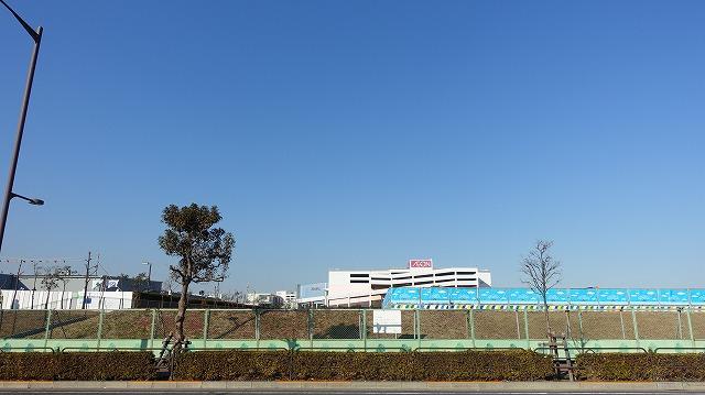 跡地には病院やイオンが建っている