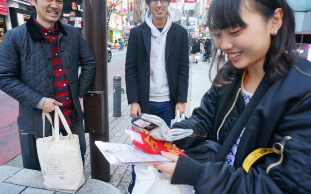 そして投票の結果、マージャン靴下で感嘆の声を勝ち取った藤原さんが優勝!