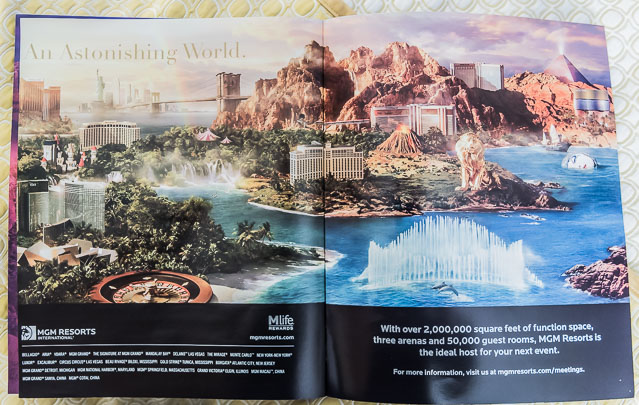 MGMリゾート グループが描くラスベガスの街のイメージが、実によくできていた。